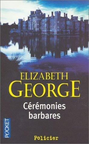ELIZABETH GEORGE - 5 romans policiers